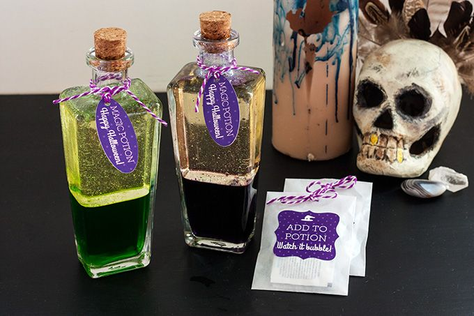 DIY: Magic Potion Bottles