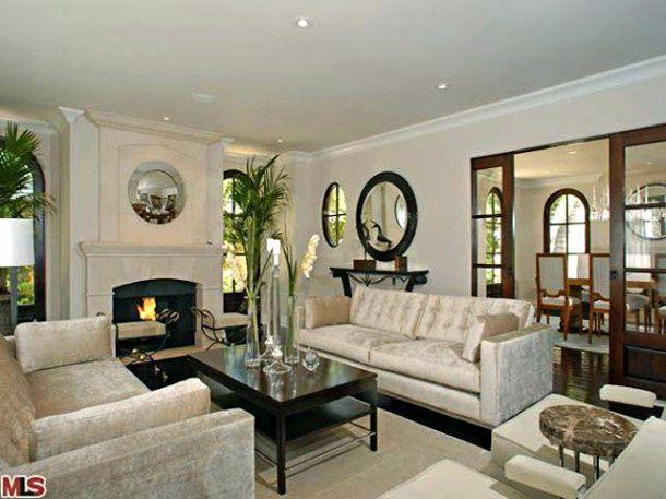 108 best   CELEBRITY LIVING ROOMS   images on Pinterest   Living ...