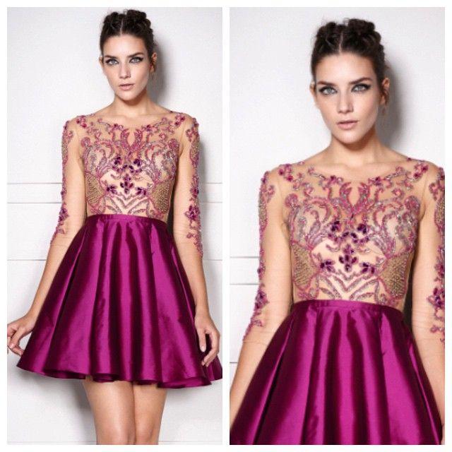 193 best Vestido images on Pinterest | Evening gowns, Ballroom dress ...