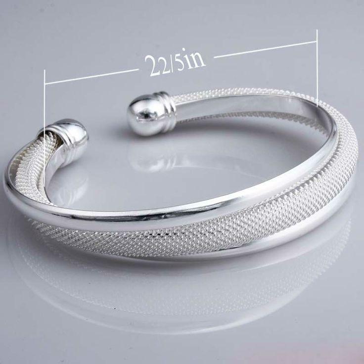 Цена завода Посеребренная Браслет оптовая/Высокое качество горячей продажи Серебряный браслет браслеты для женщин/бесплатная доставка
