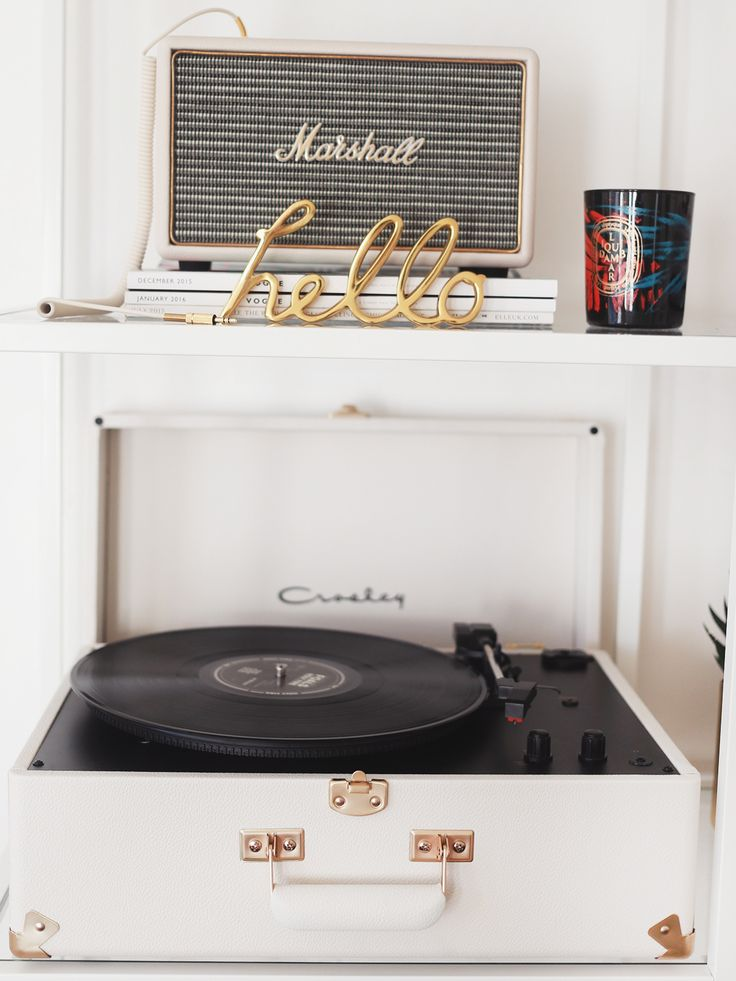 Crosley Record Player. - KATE LA VIE