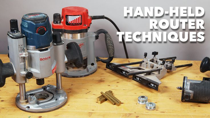Hand-Held Router Techniques | WoodWorkers Guild of America  #WWGOA