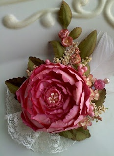 *: Paper Rose, Crafts Ideas, Paper Flower, Handmade Flower, Crafts Flower, Fake Flower, Anna Fearer, Lace Flower, Flower Handmade