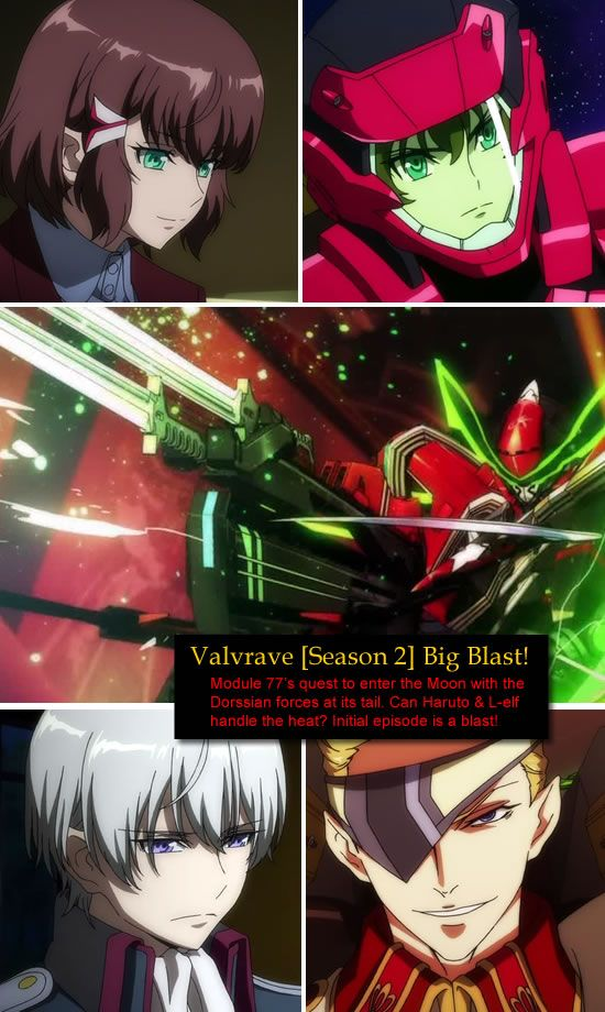Valvrave The Liberator [ Season 2] - Episode 13 starts with a big bang!