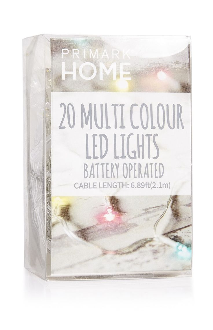 187 best images about shopping list on pinterest - Luces led primark ...