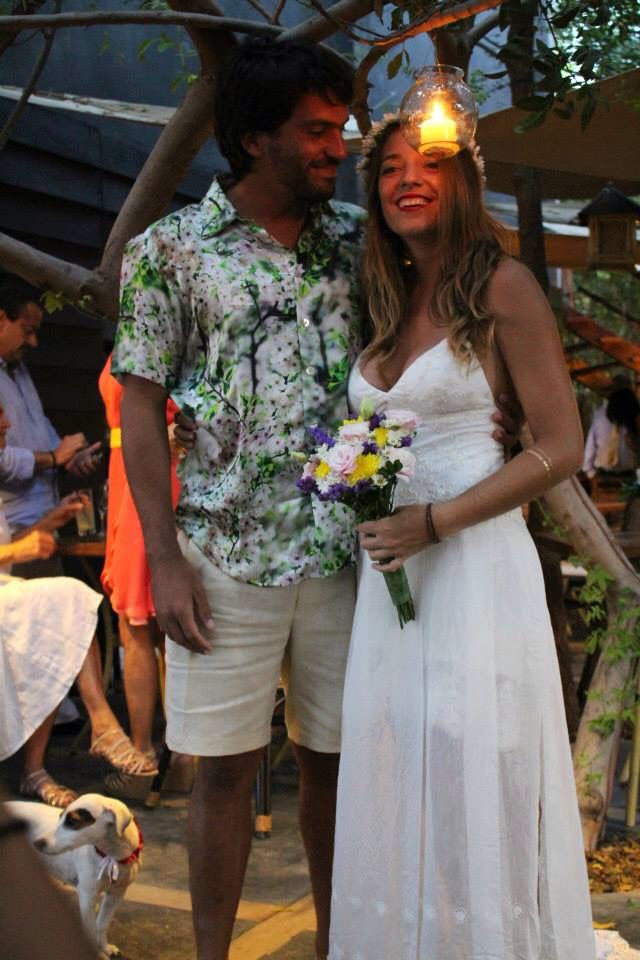 Hippie chic Wedding