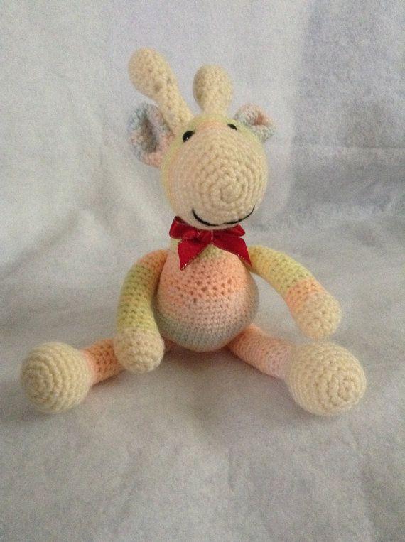 Crochet Giraffe by SewingSunbeams on Etsy
