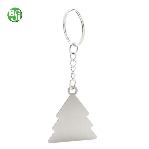 Portachiavi in metallo a forma di albero di Natale.   #portachiavi #gadget #alberodinatale #gadgetpersonalizzati