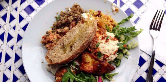 """Same people as """"Moroccan soup bar"""", but for lunch. Amazing food, great prices"""