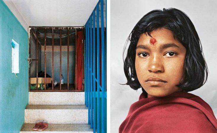 Prena, 14, Kathmandu, Nepal Prena, a 14-year-old domestic worker in Kathmandu, Nepal, works 13-hour days as a domestic worker, earns $6.50 a month, and sleeps in a tiny, cell-like space at the top of her employer's house. She goes to school three times a week and dreams of one day becoming a doctor. Matador Network