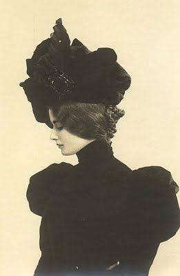 Elegant Victorian woman