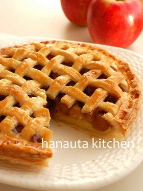 キャラメルリンゴのアップルパイ