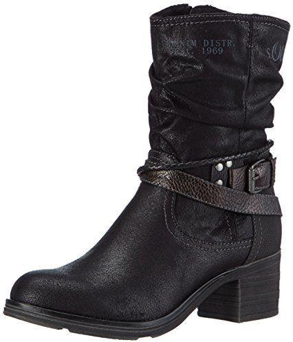 Gotta, Sandales Bout Ouvert Femme, Noir (Black), 38 EUAldo