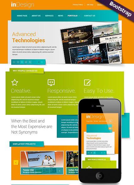 design website template bootstrap mobile responsive website website