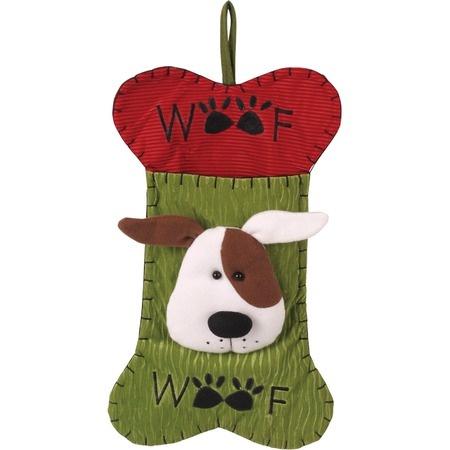 Albus needs this! Woof Dog Holiday Stocking