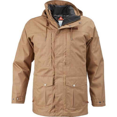 Columbia Sportswear Men's Horizons Pine Interchange Jacket (Beige Dark, Size XX Large) - Men's Outerwear, Men's Ski Outerwear at Academy Sports