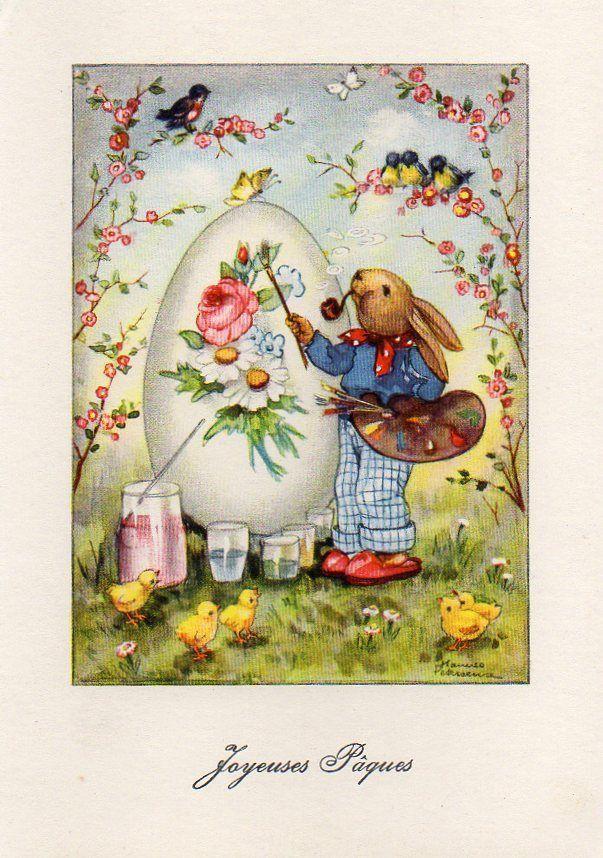 125 best images about Vintage Easter Postcards Images on – Vintage Easter Cards