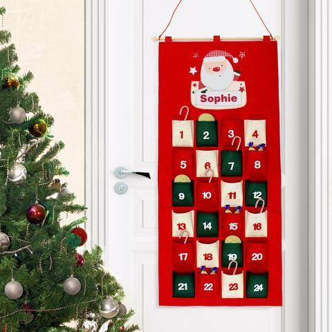 Personalised Advent Calendars | Personalised Santa Advent Calendar | Vivabop | http://www.vivabop.co.uk/products/personalised-santa-advent-calendar