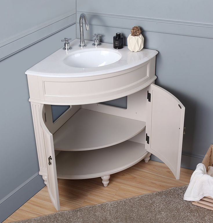 Modern Corner Bathroom Vanity, Thomasville Bathroom Vanity