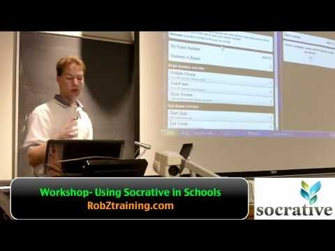 ▶ Using Socrative In Your Classroom by Rob Zdrojewski - YouTube