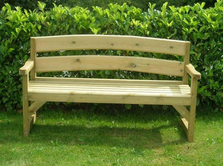 Garden Bench Version 2 | The Best Wood Furniture