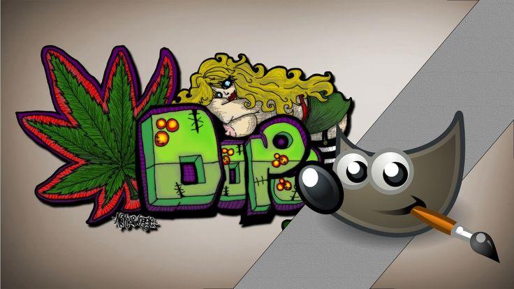 Jak zrobić graffiti? Gimp poradnik