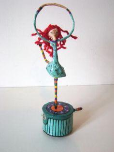 muñecos de alambre y papel - Buscar con Google