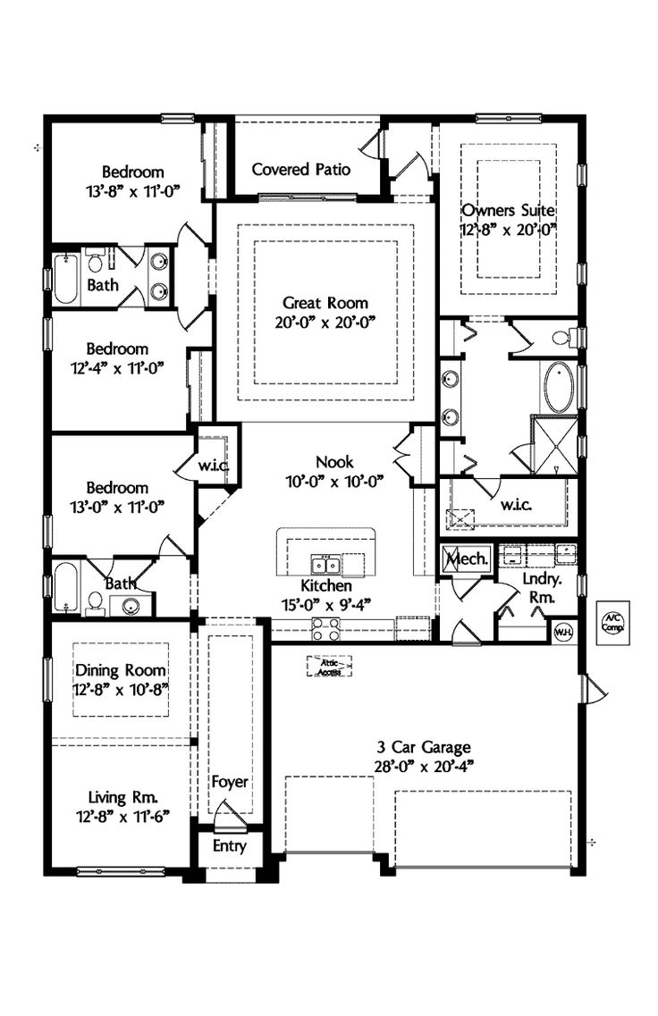 1000+ ideas about Mediterranean House Plans on Pinterest House ... - ^