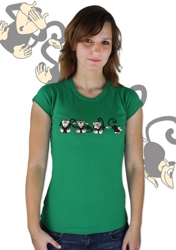 Affe grünes Damen T-Shirt    http://www.bastard-shop.de/damen-t-shirts/affe-gruenes-damen-t-shirt-612/