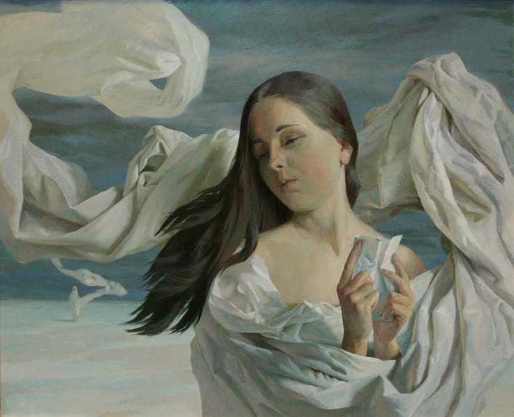 Separation  oils on canvas 70x90cm