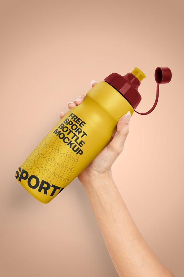 Download Plastic Water Bottle Mockup Free Sport Bottle Mockup Pixpine Bottle Mockup Sport Bottle Bottle