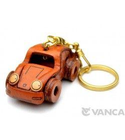 Porsche Leather Keychain(L)
