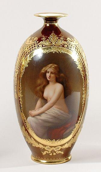 Royal Bécs - lemezek és vázák, kézzel festett. Vita LiveInternet - orosz Service Online Diaries