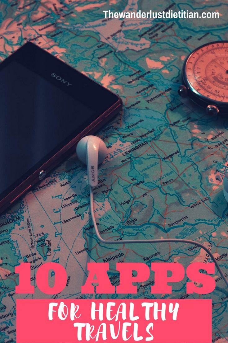 Need motivation or reminders to Be Well while you travel? Here is a roundup of FREE Health Apps for Travelers or Apps for Active Travel.************************** staying healthy on the road, stay fit while traveling, nutrition on the road, nutrition and travel, fitness and travel, workout and travel, healthy traveler, fitness apps