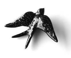 Bordallo Pinheiro - ceramic swallow #Design #Portugal #BordalloPinheiro