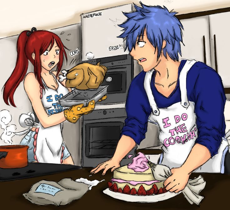 Cooking Papa Kiss Manga: 17 Best Images About Jellal X Erza On Pinterest