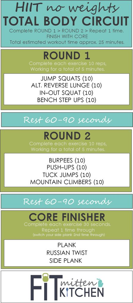 HIIT WORKOUT 2