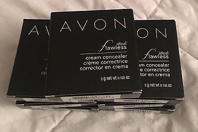 Avon Ideal Flawless CREAM Concealer/Corrector En Crema True Color New in Box