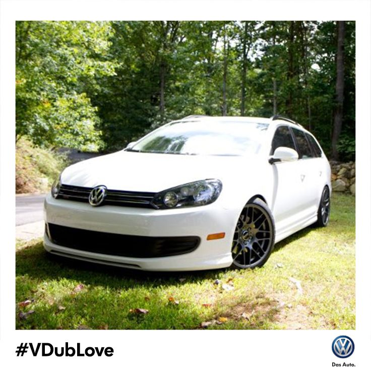 Through his 2011 Jetta Sportwagen TDI, Aaron passed his #VDubLove on to his kids, who love the German engineering as much as he does.