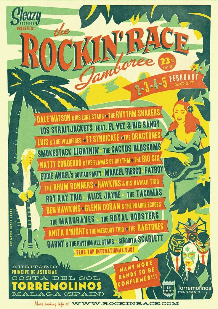 The Rockin' Race Jamboree. 2-3-4-5 February 2017. Torremolinos. Spain.