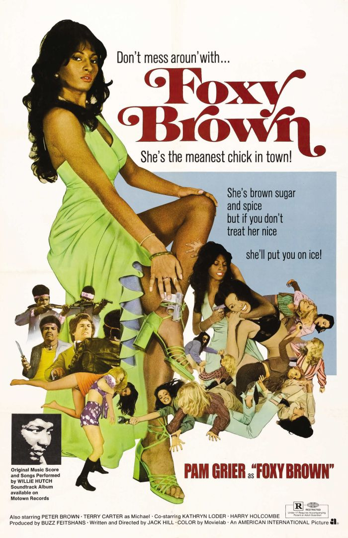 Foxy Brown/The forever awesome Pam Grier.