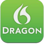 dragon dictaction  The app Dragon Dictation is an interesting app for students to practice their pronunciation. I give student a script to read from and they record themselves to see how well the computer can understand their accent. First, make sure you change the settings to Español (Américas) or Español (Europa) otherwise you will get some very funny sentences in English when the students are speaking in Spanish.