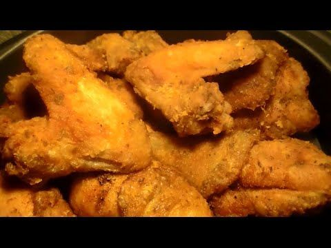 The World's Best Fried Chicken Recipe: How To Fry Fried Chicken Wings - YouTube