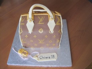 Torta borsa louis vuitton