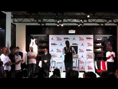 Kevin Hart Reveals the Fly Wade Jordan Shoe in miami - http://lovestandup.com/kevin-hart/kevin-hart-reveals-the-fly-wade-jordan-shoe-in-miami/