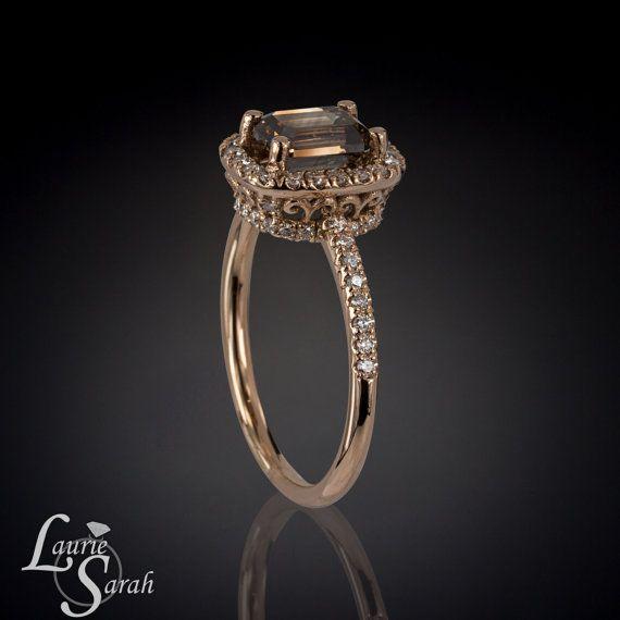 Best 20 Chocolate diamond engagement rings ideas on Pinterest