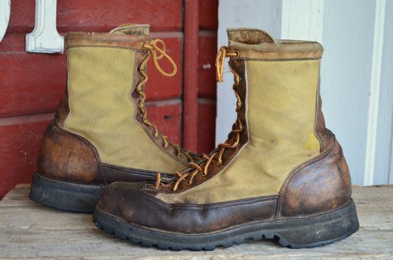Vintage Gortex & Leather Danner Mountaineer Hiking Boots 9