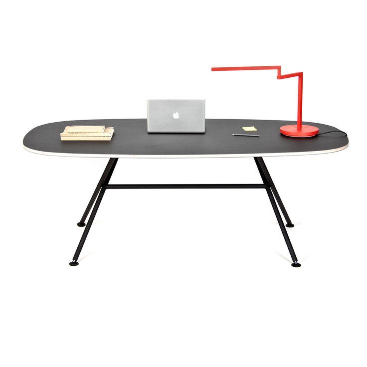 Oval Table Black
