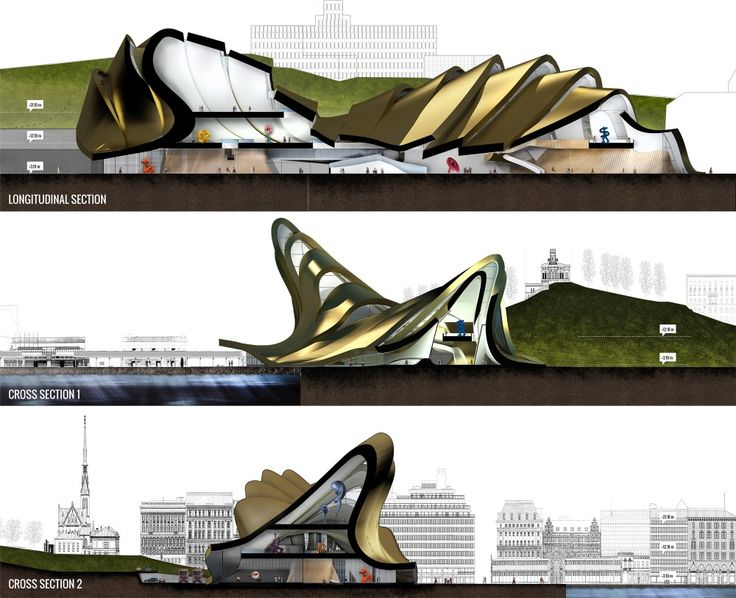 Discarded Guggenheim Proposals - LPzR architetti associati, Principioattivo architecture group