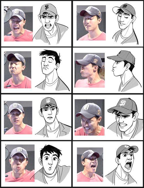 Daniel Henney vs Tadashi ภาพเปรียบเทียบสีหน้าระหว่าง แดเนียล เฮนนี่ (ผู้ให้เสียงพากย์ทาดาชิ) กับ คาแรกเตอร์ทาดาชิ  BIG HERO 6